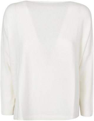 Saverio Palatella Plain Ribbed Sweater