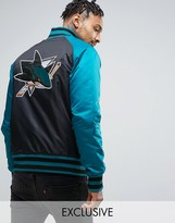Majestic Sharks Souvenir Jacket Exclusive to ASOS