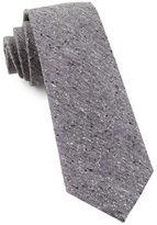 The Tie Bar Buff Solid Narrow Silk Tie