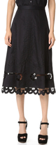 Temperley London Bellanca Midi Skirt