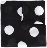 Akris Punto polka dot scarf - women - Modal/Cashmere - One Size