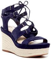 Vince Camuto Katila Lace-Up Espadrille Platform Wedge Sandal