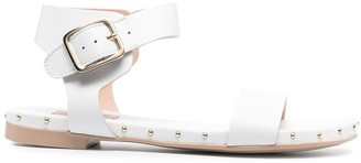 AGL Studded Leather Sandals