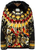 Roberto Cavalli pattern intarsia jacket