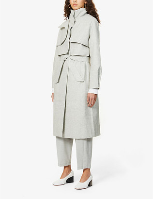 Camilla And Marc Vermont woven coat