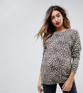 Asos Jumper In Leopard