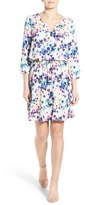 NYDJ Women's 'Alex' Pleat Back Drawstring Dress With Shaper