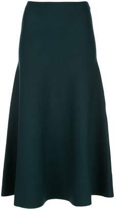Gabriela Hearst high-waist knit skirt