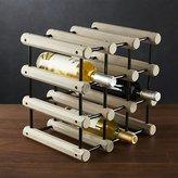 Crate & Barrel J.K. Adams Modular Wood Wine Rack