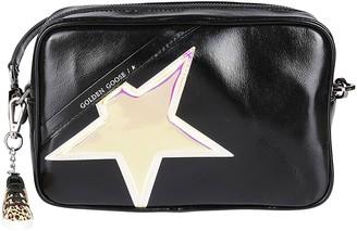 Golden Goose Black Leather Crossbody Bag