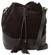 Frye Paige Suede & Leather Bucket Bag