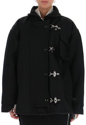 Off-White Oversize Duffle Coat