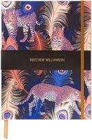 Matthew Williamson Leopardo Large Luxury Notebook