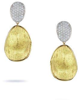 Marco Bicego Lunaria Two-Drop Diamond Earrings