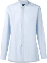 Lanvin mandarin collar shirt - men - Cotton - 40