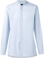 Lanvin mandarin collar shirt - men - Cotton - 43