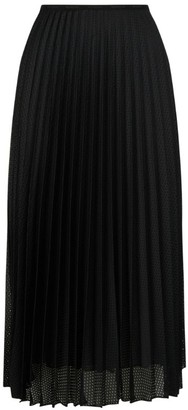 Moncler Perforated Pleat Skirt
