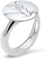 Hargreaves Stockholm Bracteate - Silver Engraved Signet Ring
