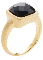 Rivka Friedman Faceted Onyx Petite Ring