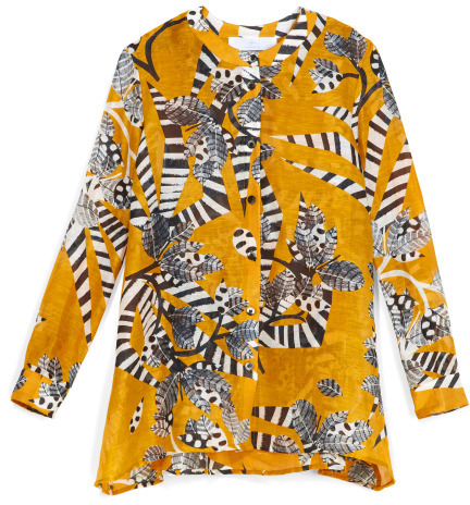 Thakoon Cape Back Blouse