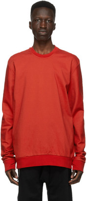 11 By Boris Bidjan Saberi Red Dye Sweatshirt