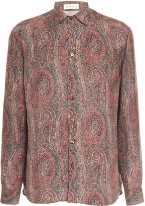Etro Printed Button Up Shirt