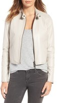 Rebecca Minkoff Women's Neva Leather Moto Jacket