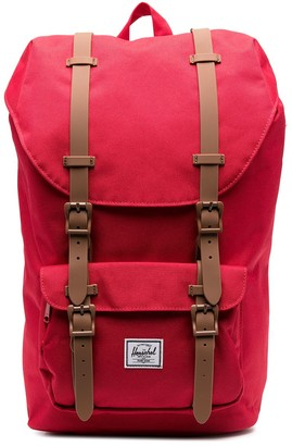 Herschel Satchel Buckle-Fastening Backpack