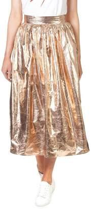 Skin and Threads Metallic Full Skirt