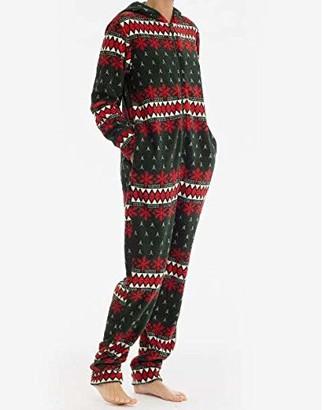 Joe Boxer Women's Winter Fresh Onesie Sleepwear