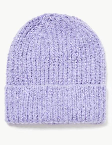 M&S Collection Spongy Beanie Hat