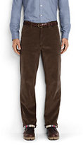 Classic Men's Traditional Fit Flannel Lined 14-wale Corduroy Pants-Beaded Stag