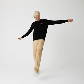 Lacoste Men's Caviar Pique Accent Sweater