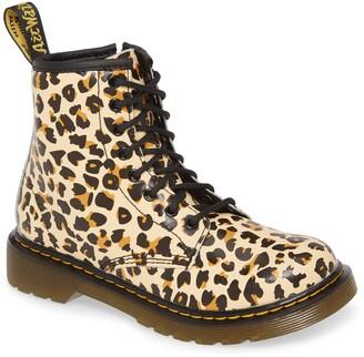 Dr. Martens 1460 Pascal Leopard Print Boot