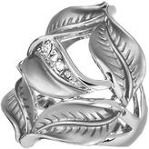 Andrew Hamilton Crawford Silver Leaf Ring