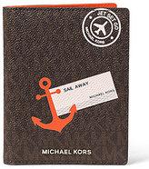 MICHAEL Michael Kors Signature Sail Away Passport Case