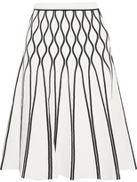 Tomas Maier A Bomb Stretch-knit Midi Skirt - White