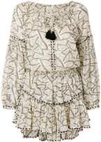 LoveShackFancy Love Shack Fancy floral print tassel dress