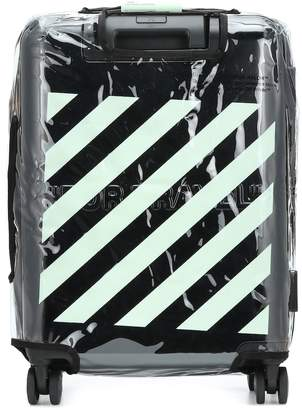 Off-White Off White Quote carry-on suitcase