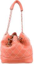 Chanel Surpique Bucket Bag