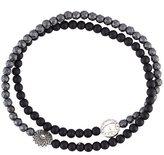 Luis Morais double wrap mantra bracelet