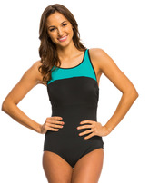 Reebok Set the Pace One Piece Swimsuit 8140484