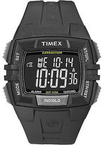 Timex Men's Outdoor Watch | Chronograph Alam Timer Black | Expedition T49900