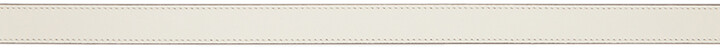 Thumbnail for your product : Gucci White Thin GG Marmont Belt