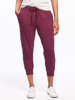 Old Navy Go-Dry Mid-Rise Slim Joggers for Women