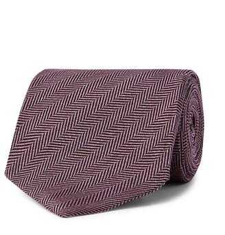 Tom Ford 8cm Herringbone Silk-Jacquard Tie - Men - Multi
