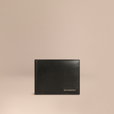 Burberry London Leather Folding Wallet