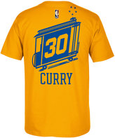 adidas Men's Stephen Curry Golden State Warriors Hardwood Classic Player T-Shirt