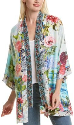 Johnny Was Parvati Silk Kimono