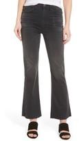 Current/Elliott Women's The Kick High Waist Crop Flare Jeans
